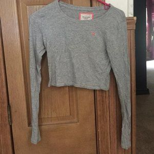 Abercrombie and Fitch Cropped Shirt